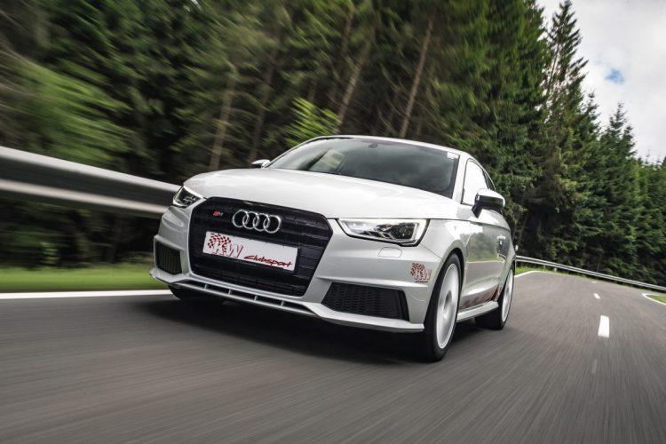 Mit seinen 320 PS kann der Audi S1 nun deutlich unter sechs Sekunden beim Kavalierstart bleiben.