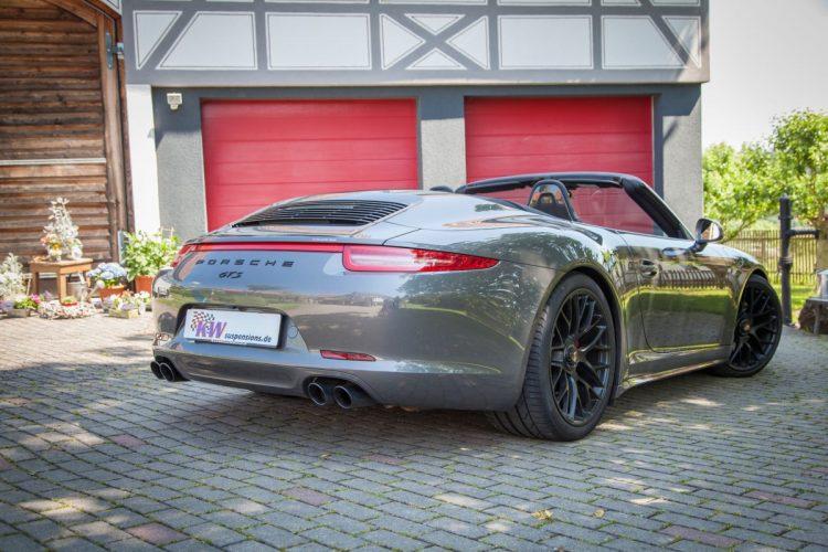 Macht auch als Cabrio Spaß: Der Porsche Carrera GTS.