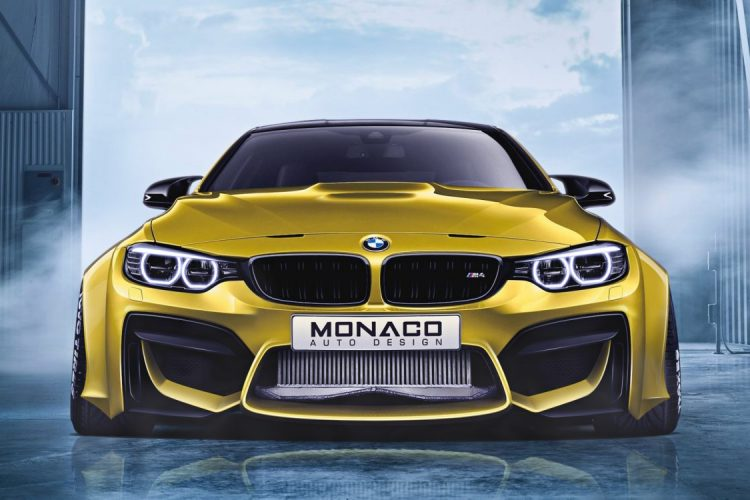 BMW M4 Widebody Front