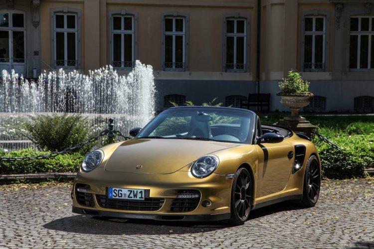Old but Gold: Der Porsche 911 Turbo von Wimmer weiß optisch wie technisch zu überzeugen.