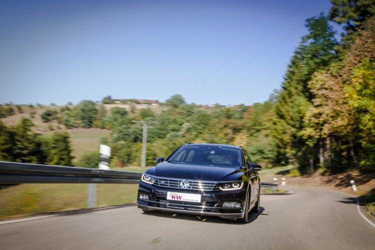 Optisch wie technisch auf der Höhe: Im VW Passat stimmt auch ohne Tuning schon so einiges - wenn auch nicht alles.