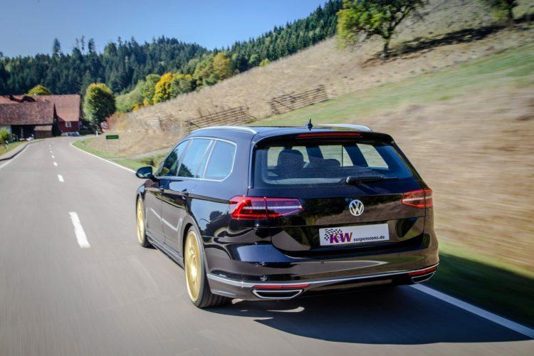 Sportlich unterwegs: Der VW Passat kann neben Allrad auch ein Fahrwerksupdate gut gebrauchen.