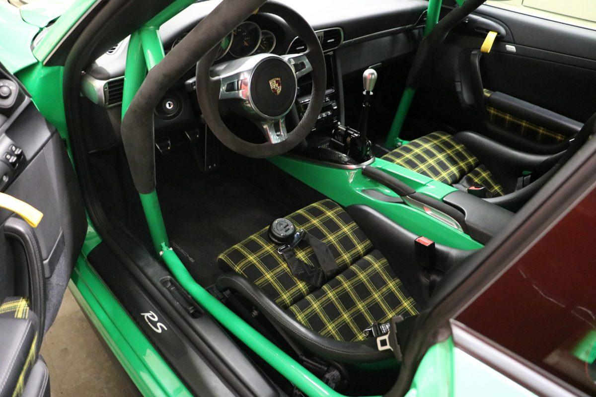 Der Clubsport Porsche 911 Gt3 Rs Von Kaege