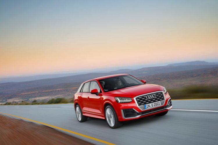 Könnte etwas offensiver aussehen: Die Frontpartie des neuen Audi Q2.