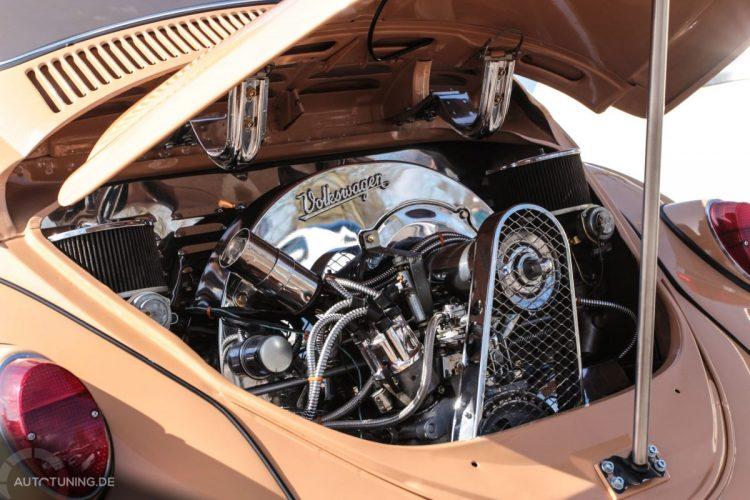 Motorraum VW Käfer Tuning