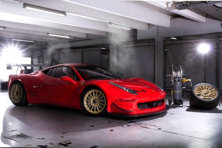 Kommt in spezieller Abstimmung daher: Der Ferrari 458 vom Team racing one.