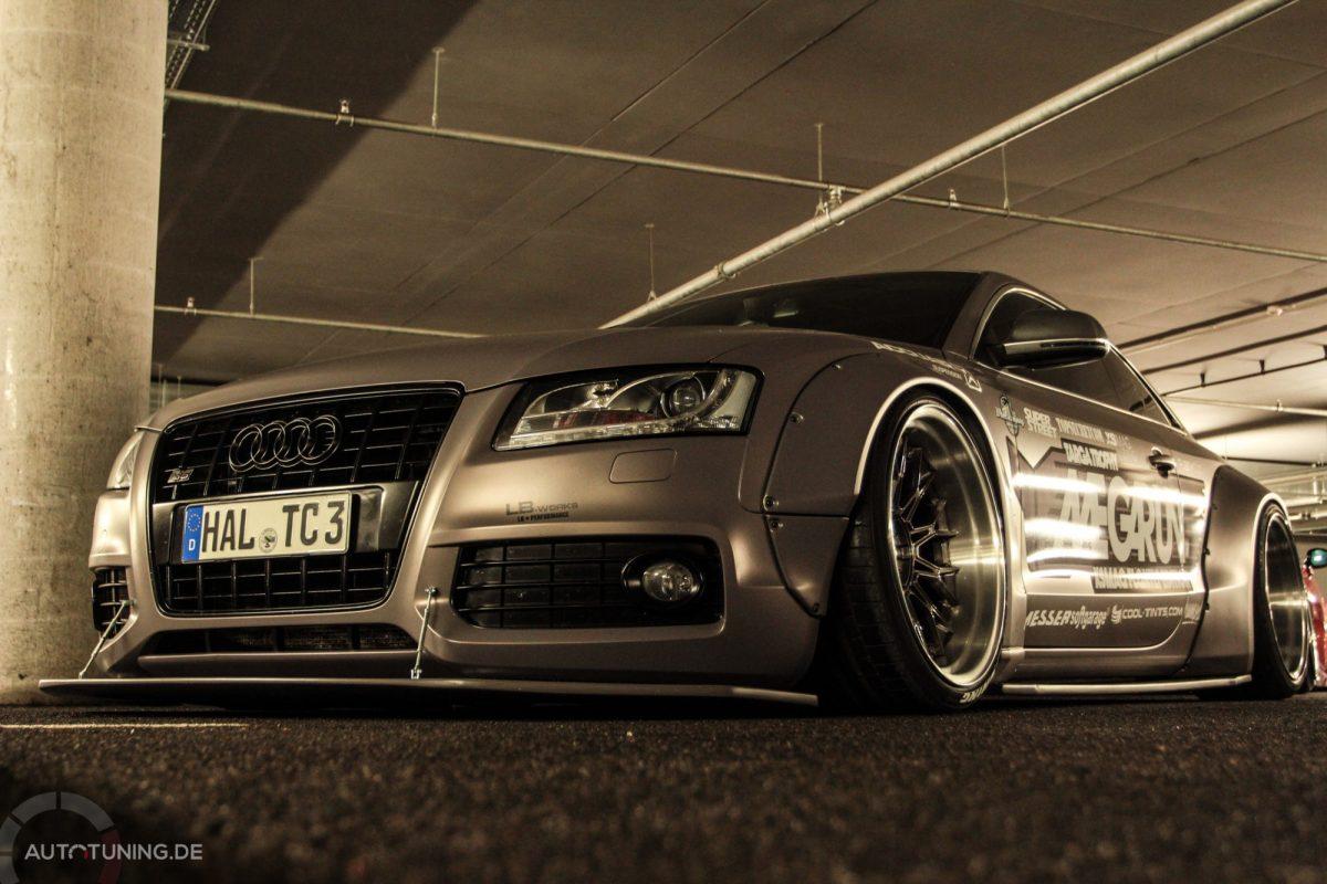 Liberty Walk Audi S5 Eine Echte Granate Autotuning De