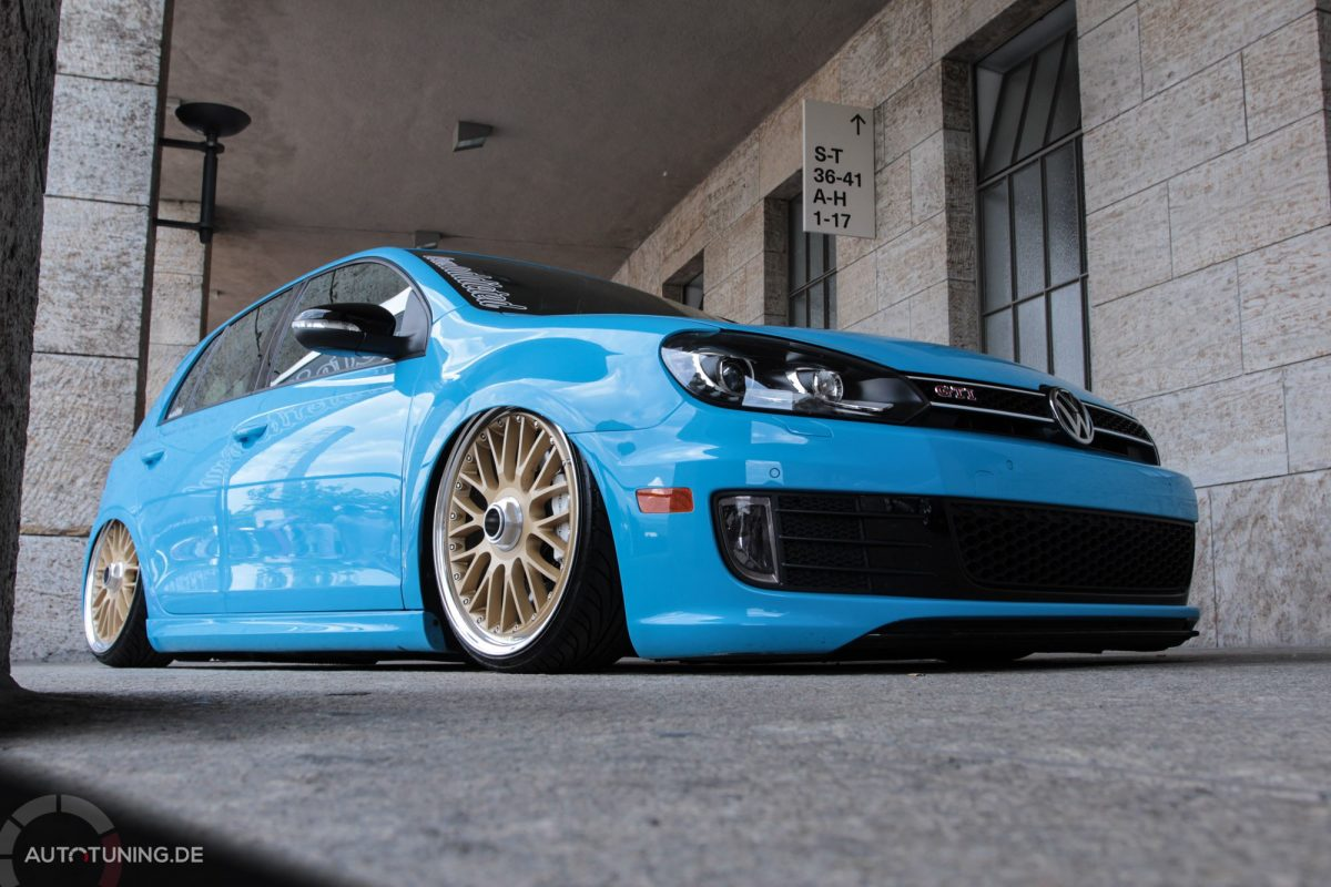 Bagged Beauty Vw Golf Vi Gti Autotuning De