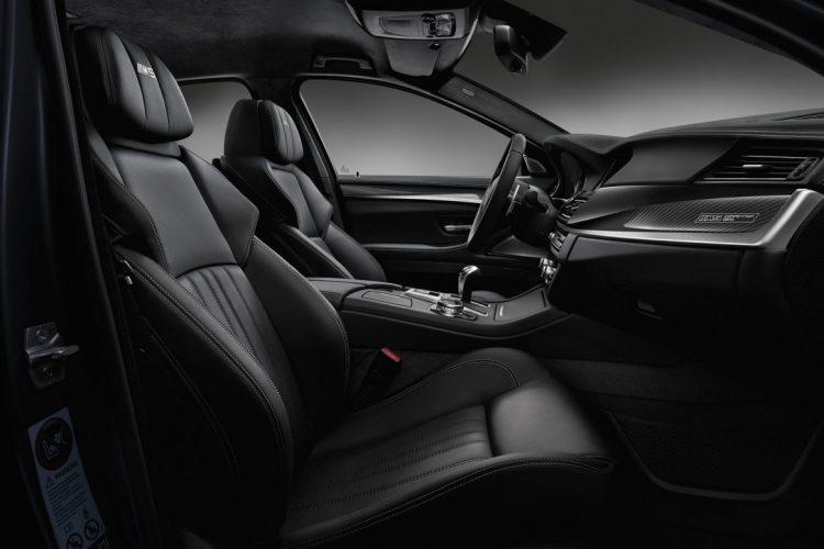 Auch des Interieur der BMW M5 Competition Edition trägt spezielle Züge.