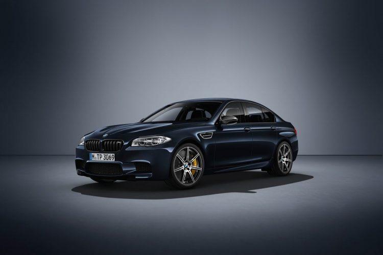 Kraftvoll proportioniert: DIe BMW M5 Competition Edition ist nicht nur flott, sondern auch knackig im Aussehen.