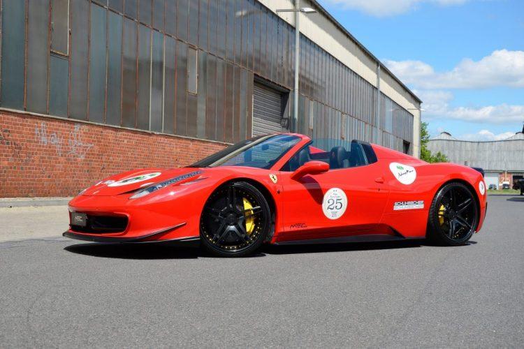 Ferrari 458 Spider MEC Design 09