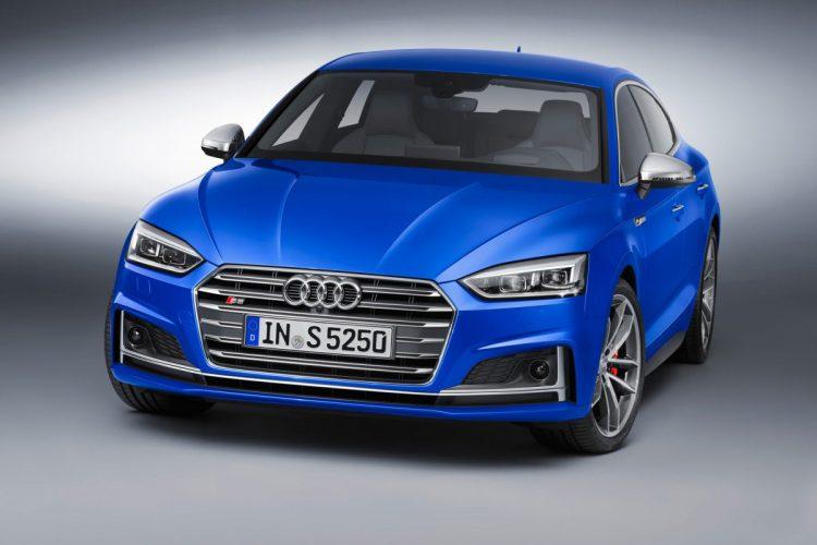 Druckvoll unterwegs: Beim neuen Audi S5 Sportback herrscht reichlich Drehmoment auf den Antriebsachsen.