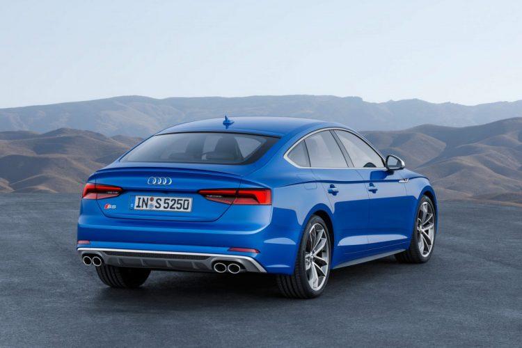 Audi S5 Sportback Heckansicht