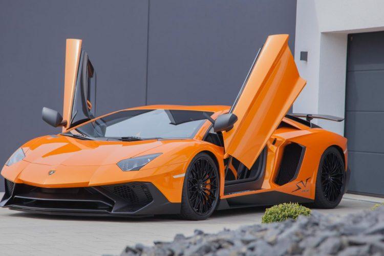 Perfekt! Der Lamborghini Aventator mit KW Gewindefahrwerk Variante 4