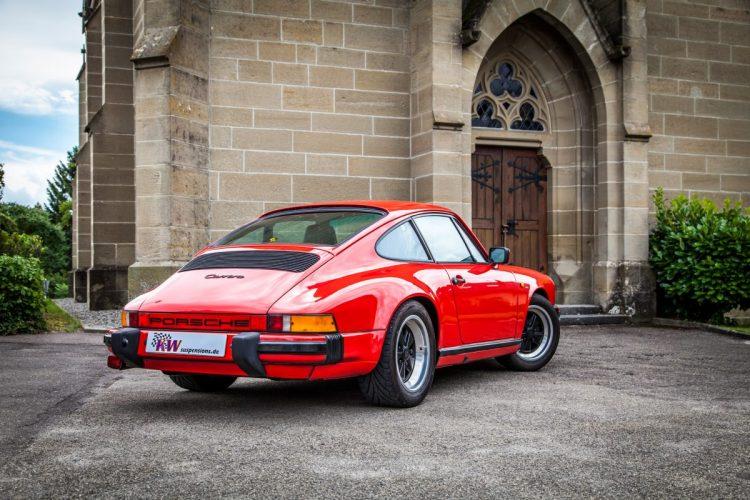 Formschön wie eh und je: Das Porsche 911 G-Modell bot schon in den 1970er Jahren ordentlich Leistung.