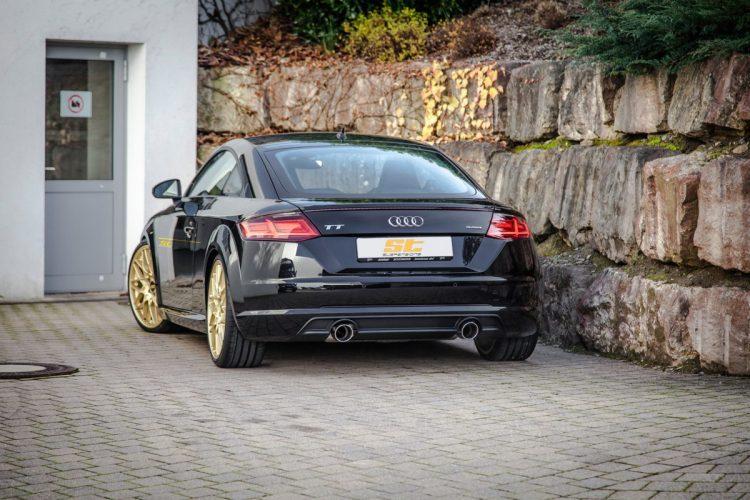 Audi TT Heckansicht