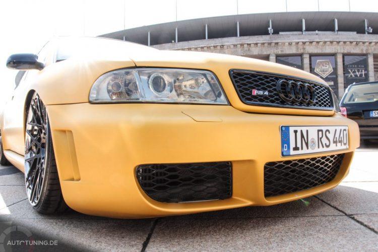 Frontansicht des Audi RS4 Avant