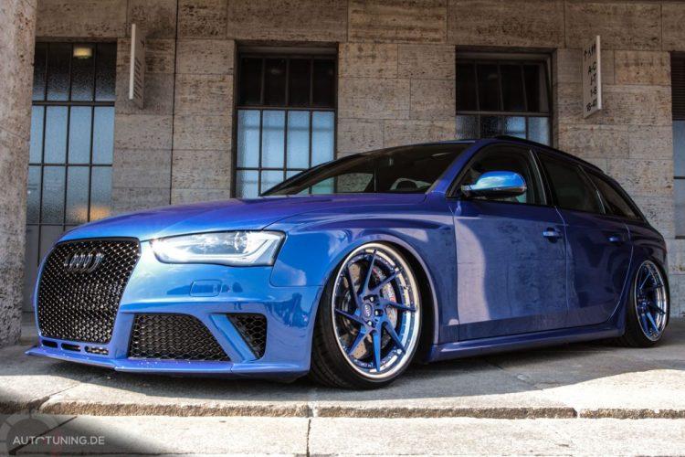 Frontansicht des Audi A4 Avant