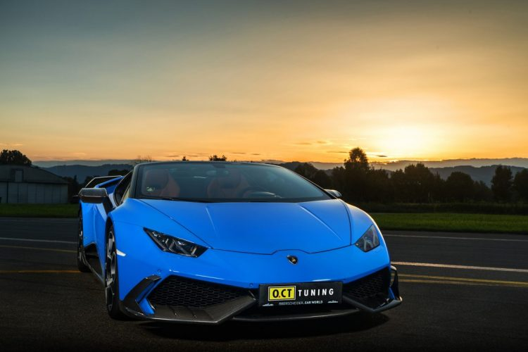 Frontansicht des Lamborghini Huracán O.CT 800 Supercharged