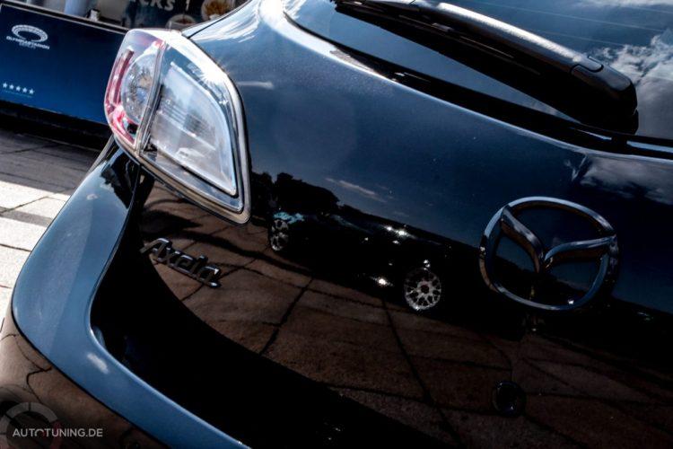 Heckdetails des Mazda 3