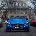 Frontansicht des Mercedes-AMG S 63 Coupé