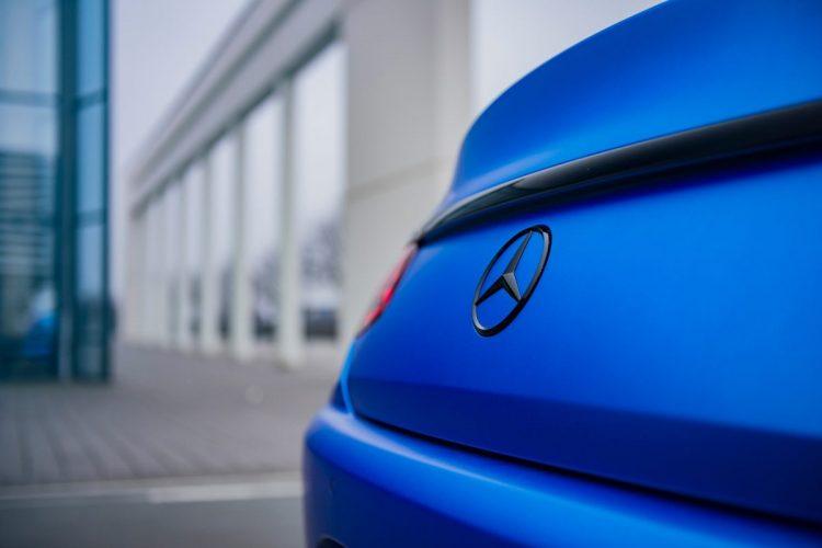 Detailansicht am Heck des Mercedes-AMG S 63 Coupé