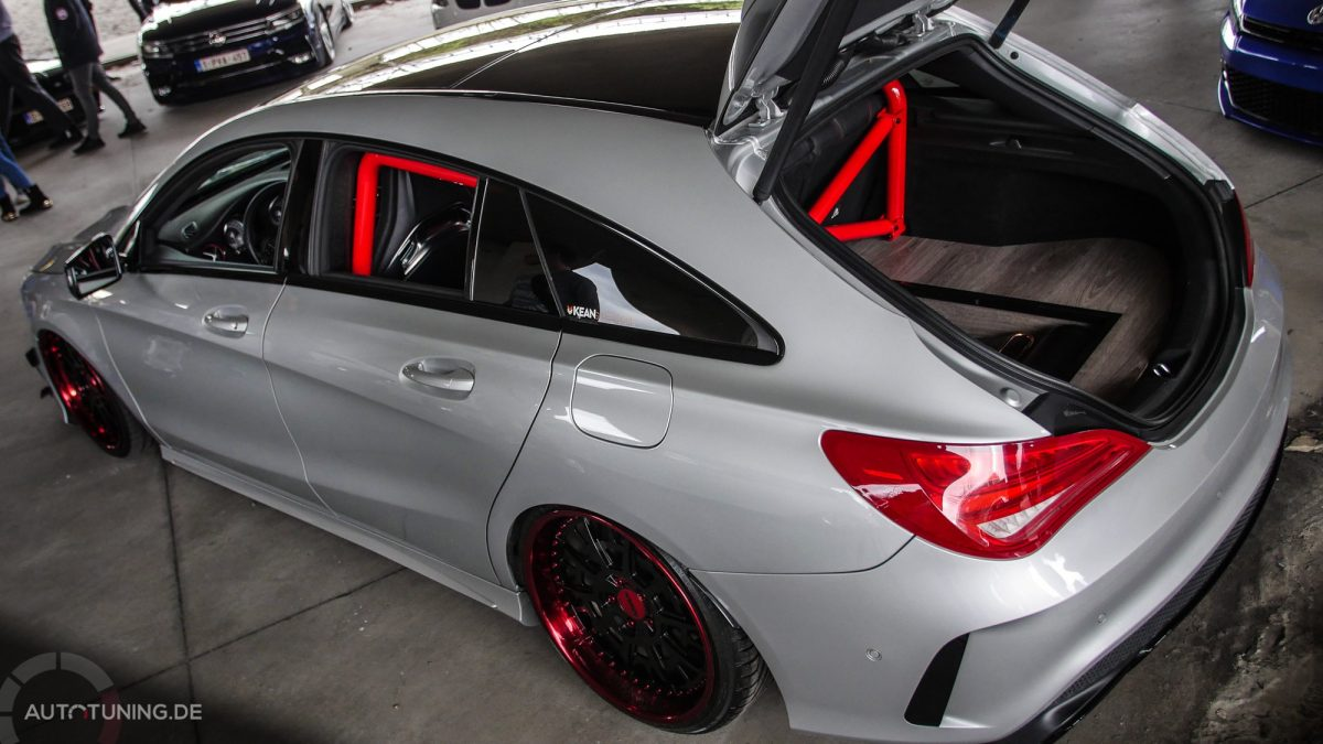 Shooting Star Mercedes Benz Cla Shooting Brake Autotuning De