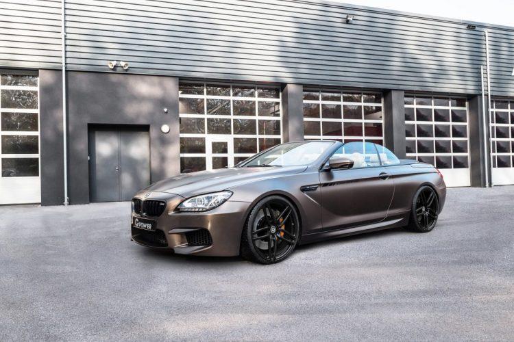 Das BMW M6 Cabriolet von G-Power ist eine beeindruckende Erscheinung
