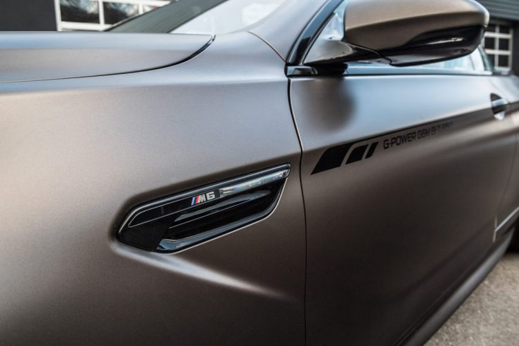 Detailansicht des BMW M6 Cabriolet von G-Power