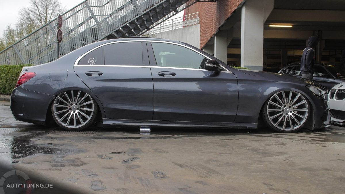 New low mercedes benz c klasse w205 autotuning de for Mercedes benz of louisville