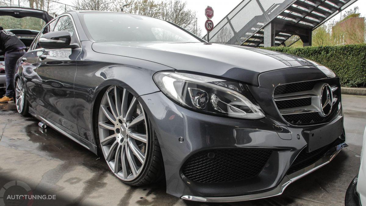 New Amp Low Mercedes Benz C Klasse W205 Autotuning De
