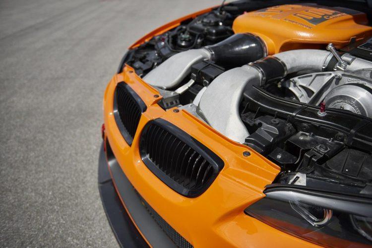 Motorraum des G-Power M3 GTS S Hurricane
