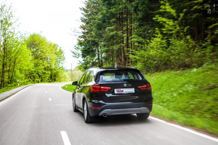 Heck des BMW X1
