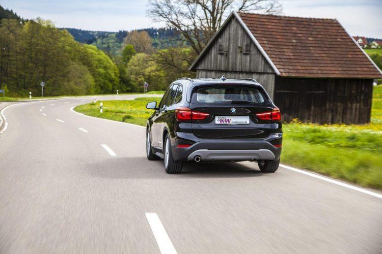Heckansicht des BMW X1