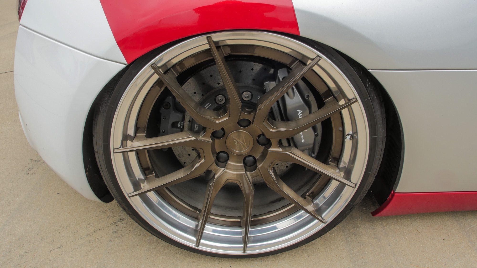 Die Räder von Z-Performance passen perfekt zum Audi R8