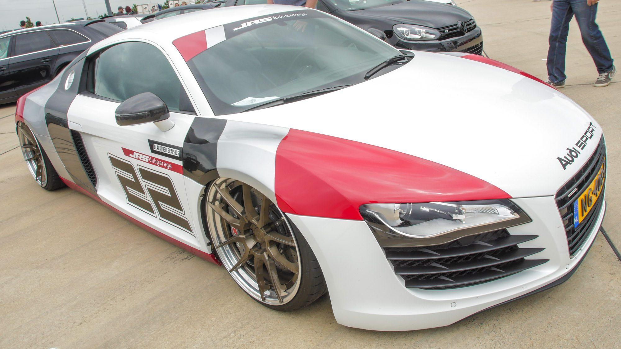 Frontansicht des Audi R8