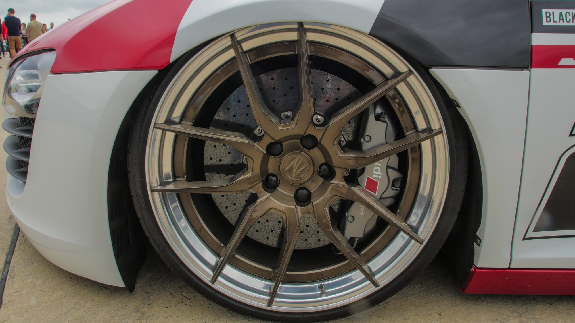Z-Performance-Räder auf dem Audi R8