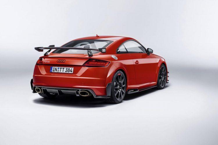 Heckansicht des Audi TT RS