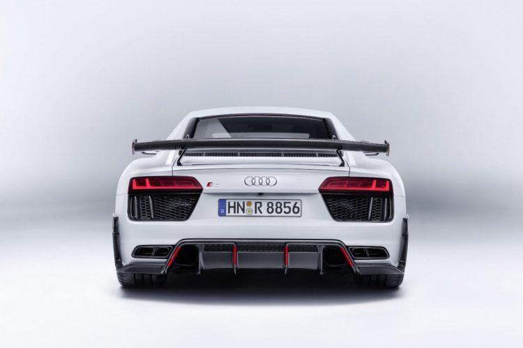 Heckansicht des Audi R8