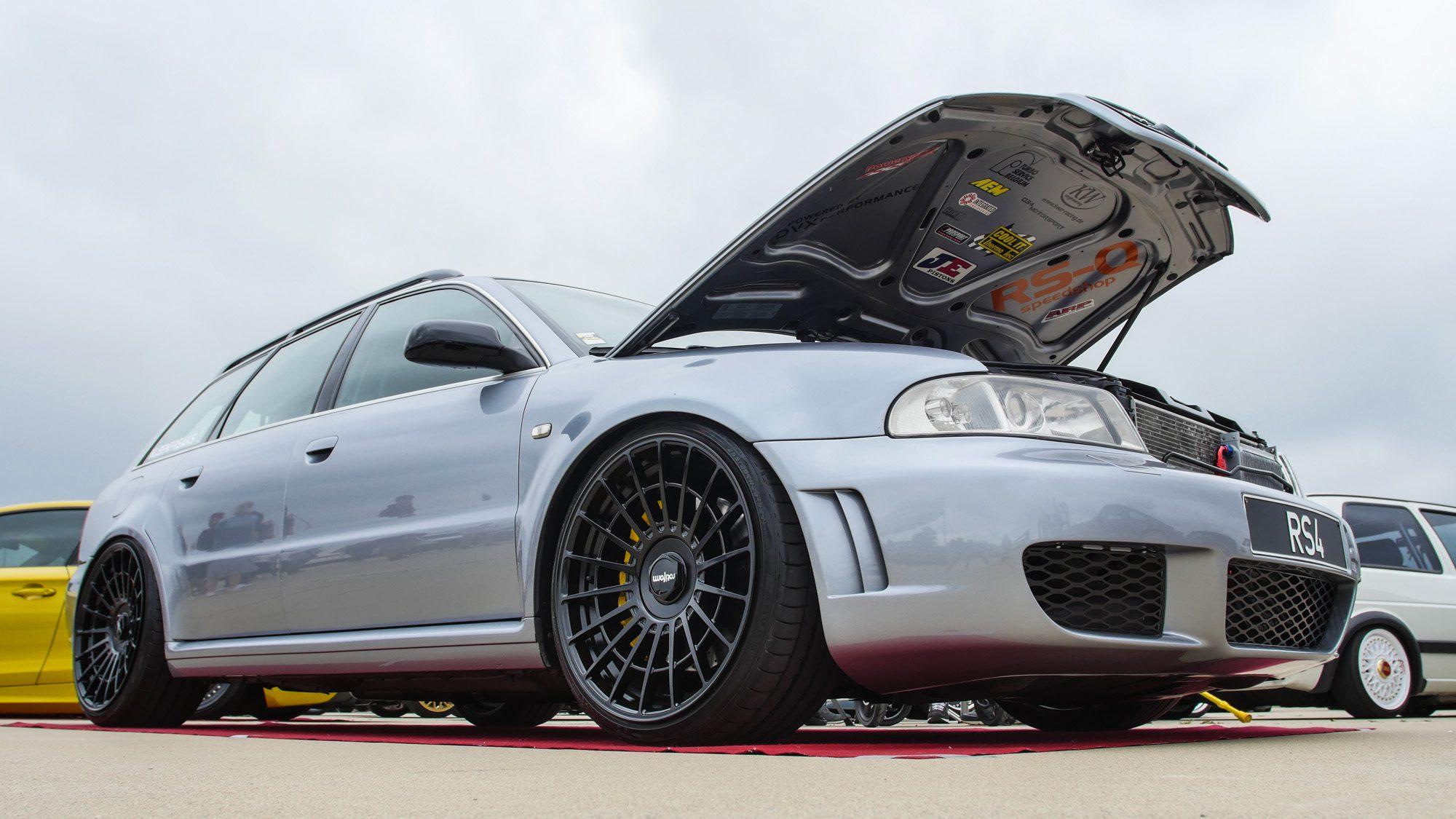 Frontansicht des Audi RS4