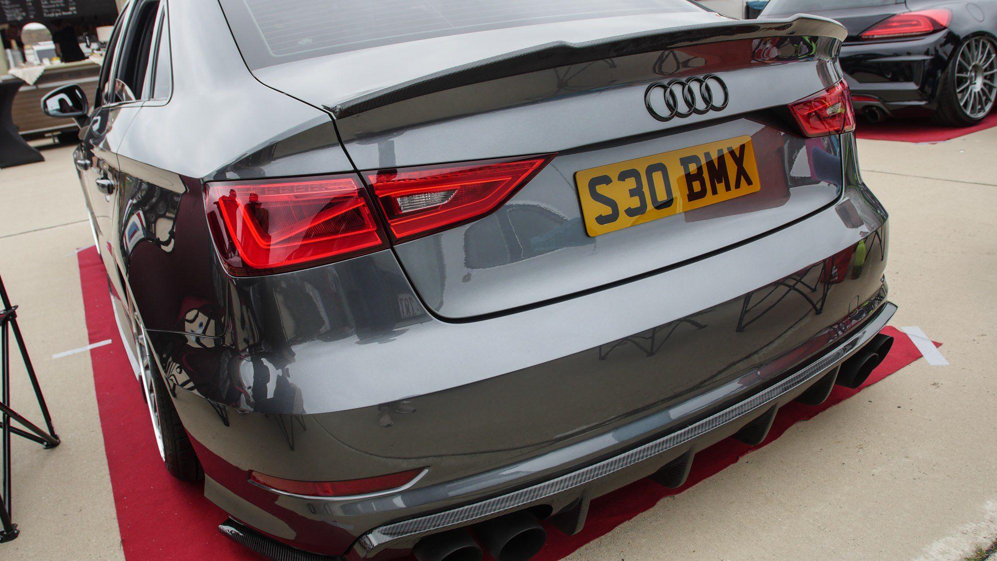Heck der Audi S3 Limousine