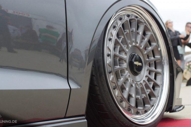 Die Rotiform-Walzen auf der Audi S3 Limousine