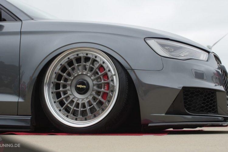 Frontpartie der Audi S3 Limousine