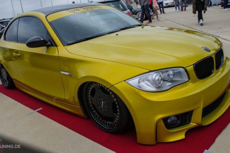 Frontansicht des BMW 1er Coupé