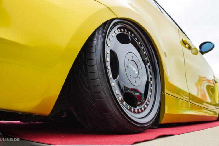 Räder von Lorinser auf dem BMW 1er Coupé