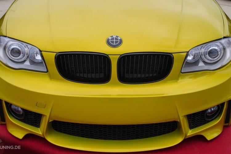 Front des BMW 1er Coupé