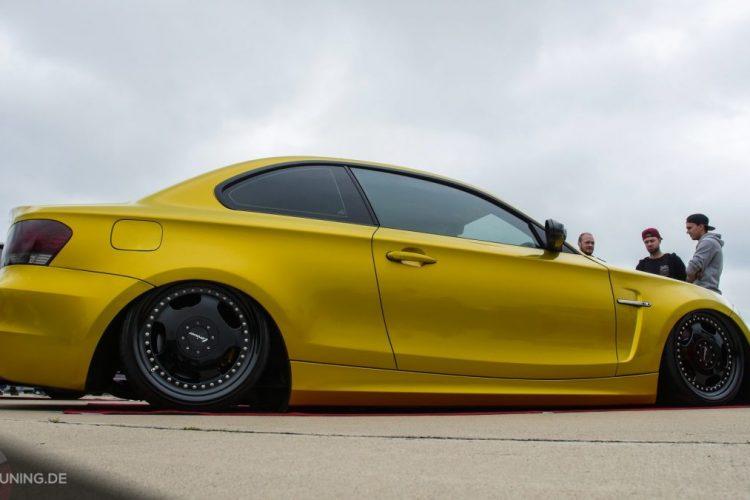 Seitenansicht des BMW 1er Coupé