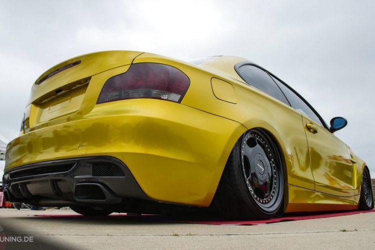 Heckansicht des BMW 1er Coupé