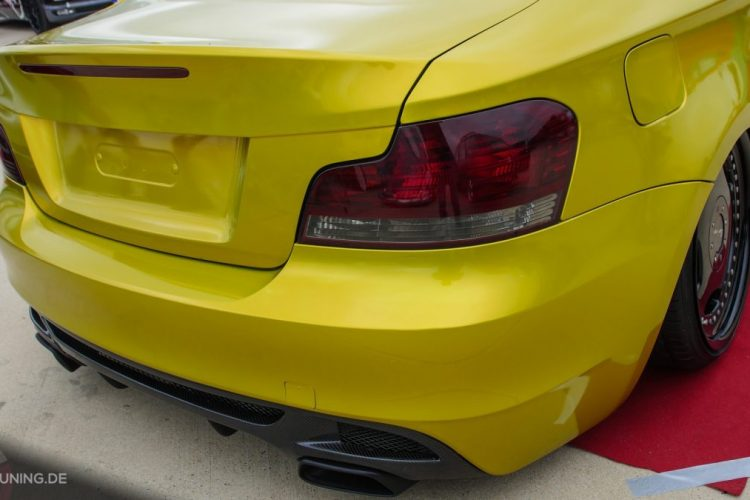 Heck des BMW 1er Coupé