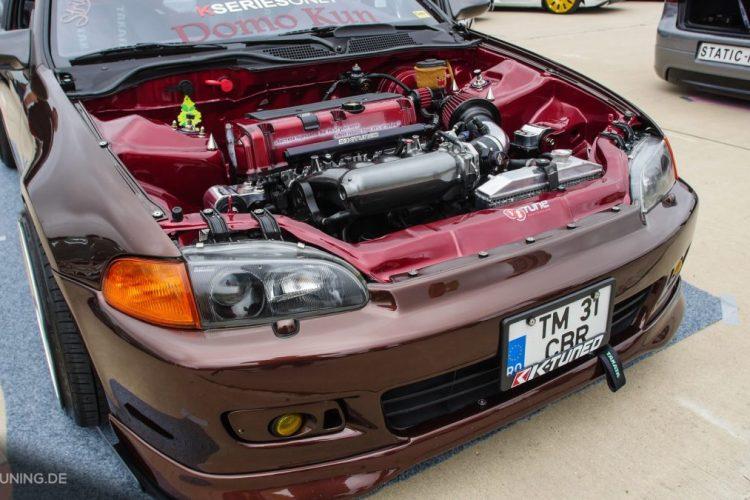 Frontansicht des Honda Civic